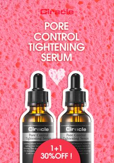 [Ciracle] Pore Control Tightening Serum (1+1 / 30% Discount) $40.50 #wishtrend #ciracle #pore #beauty