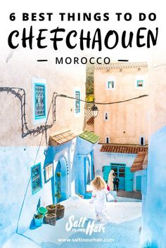 chefchaouen things to do blue street pin
