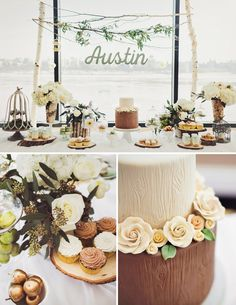 Love the soft touches in this woodland party!
