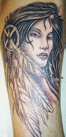 native american woman tattoo designs tatt-tatt-tattoos