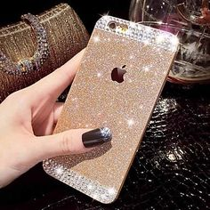 Crystal iPhone 6s Cases Bling Cover For iPhone 6 6s 5s 5c / iPhone 6 Plus