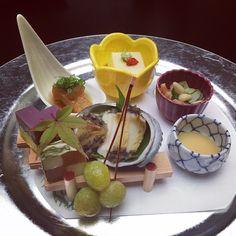 Kaiseki birthday dinner for 88yo grandpa. #kaiseki #dinner #birthday #88yo #fun by mikiintokyo