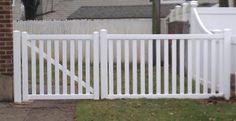 Veranda Greenbrier 4 ft. x 8 ft. White Vinyl 2-Rail Picket Fence Panel-73012319 at The Home Depot