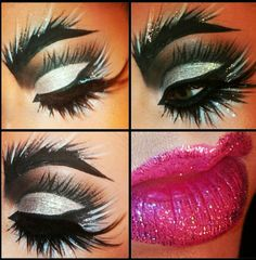 #Creative #Theatrical #Intense #Bold #Makeup   ::)