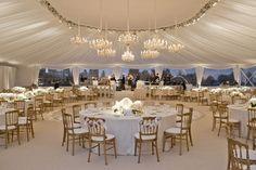 My Wedding: Classic Ballroom Wedding Inspiration: Birch Design Studio's circular dance floor.
