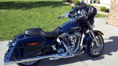 Big blue pearl harley davidson paint code - photo: download ...
