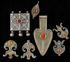 Turkoman Pendants.