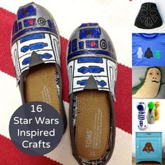 These projects combine two of my favorite things - handmade and Star Wars. Check out these 16 Star Wars crafts that are out of this world. I'd love to know which of these Star Wars DIY projects are your favorite!