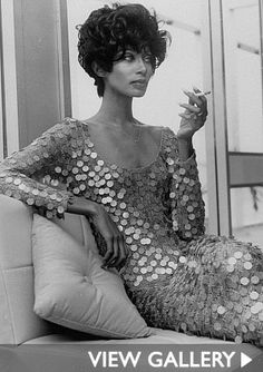 Donyale Luna ~ Donyale Luna (January 1, 1945 - May 17, 1979) was the first notable African American fashion model and the first black cover girl.