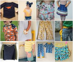 Sewing kids clothes