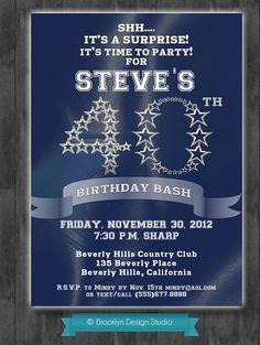 9b2730ec712bb183dd7fe24824414965 fiftieth birthday th birthday dallas cowboys nfl custom party ticket invitations on etsy, $8 99,Dallas Cowboys Birthday Invitations