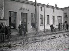 Wapienna 2 (Srebrzyńska 67), Łódź - 1939 rok, stare zdjęcia