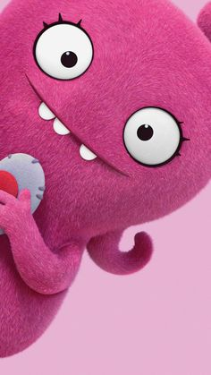 "Wallpaper for ""UglyDolls"" Phone Screen Wallpaper, Cellphone Wallpaper, Cute Cartoon Wallpapers, Movie Wallpapers, Ugly Dolls, Friends Wallpaper, About Time Movie, Cool Posters, Being Ugly"