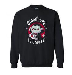 Coffee vampire Sweatshirt SN