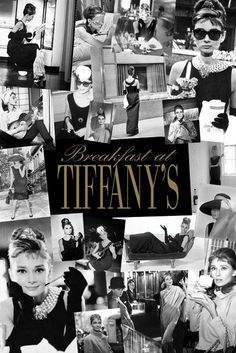 Breakfast at Tiffany's, 1961, starring Audrey Hepburn and George Peppard. One of my absolute favorite Audrey Hepburn movies ever.