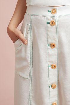 Slide View: 3: Riverine Midi Skirt