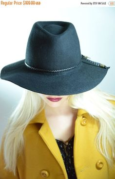 A personal favorite from my Etsy shop https://www.etsy.com/il-en/listing/220816860/on-sale-winter-sale-floppy-fedora-hat