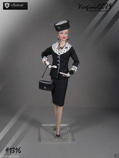 Tenue Outfit Accessoires Pour Fashion Royalty Barbie Silkstone Vintage 1316 | eBay