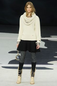 Chanel Fall 2013 RTW Collection -   ...and this one too!
