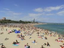 10 Best Barcelona Beaches (Some Clothing-Optional, Some Not): Nova Icaria Beach