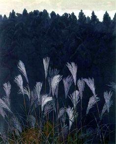 東山 魁夷 Kaii Higashiyama(1908- 1999) 秋思