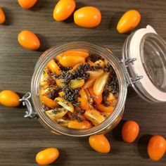 #citrusseason is coming to an end so I wanted to preserve as much #flavour as possible. Making a #shrub is a #great way to save the #yummy #aroma of #kumquat It's made of #honey #applecidervinegar #lavender and #lemonjuice. In two days I can tell you if it worked out.  | #healthy #healthydrink #food #foodpic #foodporn #foodie #foodstagram #instafood #homemade #selfmade #drinks #applecider #apfelessig #lavendel #foodblog #foodblogger #foodlover