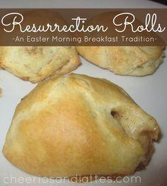 Resurrection Rolls; an Easter Morning Breakfast Tradition