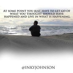 "Inky Johnson on Twitter: ""At some point you just have to let go of ..."