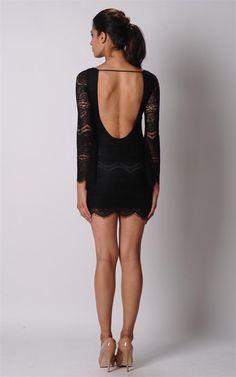 Elle Zeitoune Gala Dress in Black