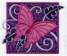 Machine Embroidery Designs at Embroidery Library! - Tropical (Applique)