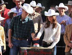 """July 8, 2011 - If William and Kate were going for """"sexy cowboy and cowgirl look"""" at the Calgary Stampede, well, they achieved it."""