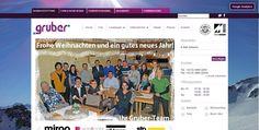 Diseño Web, empresa de pintores, Austria