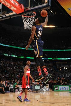 Paul George slam dunk contest.
