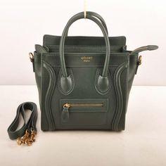 433e7ceca4 Celine Nano Tote Bag 308 emerald green 20cm Celine Handbags