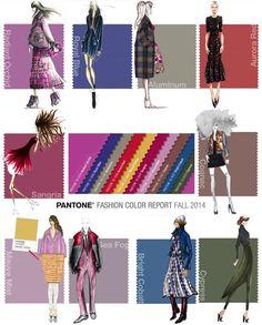 fall pantone 2014 | The Fall 2014 Pantone Fashion Color Palette: Unisex Nostalgia (Podcast ...