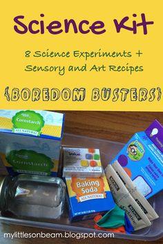 My Little Sonbeam: DIY Christmas Gifts {stocking Stuffers} for Children: Science kit  Mylittlesonbeam.blogspot.com {homeschool preschool learning activities}