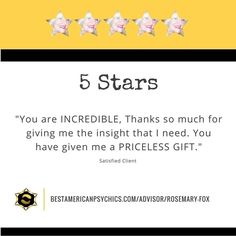 We love giving priceless gifts!!! When we can help a soul heal it makes our jobs worth it. Check out Rosemary Fox!  http://ift.tt/2aLJ1ym  #rosemaryfox #tarot #bestamericanpsychics #bap #psychicoftheweek #review #testimonial #satisfiedclient #happyclient #clientreview #bestofthebest #simplythebest #lightworker #whenonlythebestwilldo #psychicmedium #psychic #spirit #spiritual #spirituality #award #winner #quality #professional #professionalism #life #questions #advice #guidance #hope…