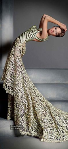 .The Versatile Talents of Artisan Blanka Matragi » Blanka Matragi 30th Anniversary Couture Collection.