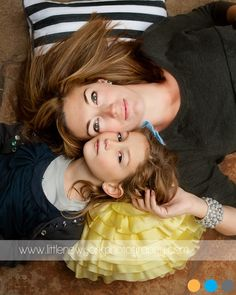 mother / daughter photo... <3 this