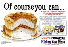 Vintage Pineapple Cake.