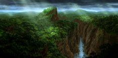 Rainforest Mountains by JoakimOlofsson.deviantart.com on @deviantART