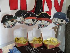 Pirate Party Favors #pirate #partyfavors