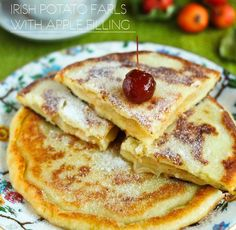 #ClippedOnIssuu from Clouds. Special issue - Shrove Tuesday irish potato farls with apple filling