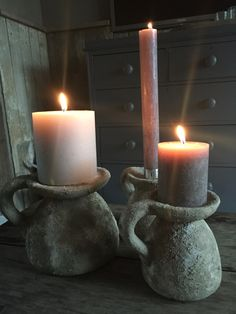 Brynxz earth candleholders @ gnuswonen