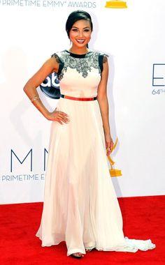 Jeannie Mai Emmy Awards 2012. #redcarpet #Emmys