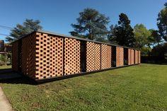 Estudio Botteri-Connell_Pavilhão Experimental de Tijolos, Buenos Aires, Argentina