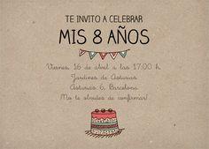 Tarjetas de invitación para cumpleaños infantil | Invitaenunclic