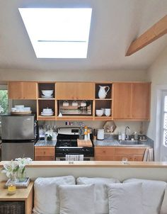 Whitney's Built-In Bungalow Kitchen — Small Cool Kitchens 2013