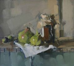 MAGGIE SINER - Google Search  Love the jar and pears... great colors ... my pick so far