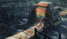 ArtStation - Dungeons & Dragons Curse of Strahd, Jedd Chevrier